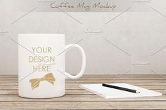 Coffee Mug/Cup Mockup vol.2 by aivos on @creativemarket