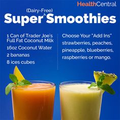 No dairy, no problem!  http://www.healthcentral.com/obesity/c/276918/174082/dairy-free-smoothies-borne/?ap=2012  #DairyFree #Dairy #Smoothie #Recipes #Fruits #HealthyRecipes #Health