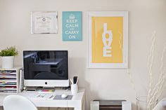Home Office Makeover Ideas by TheOfficeStylist.com, via Flickr