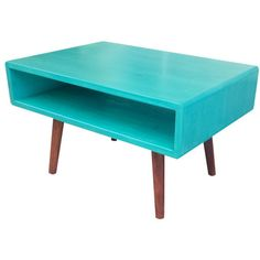 Mid Century Inspired Tiny Coffee Table ($225) ❤ liked on Polyvore featuring home, furniture, tables, accent tables, black, coffee & end tables, home & living, living room furniture, black side table and mid century modern side table