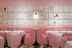 Arte y comida en el mismo espacio  https://www.sketch.uk.com/David_Shrigley_intro.php
