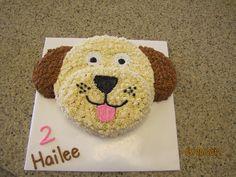 Hailee's puppy cake