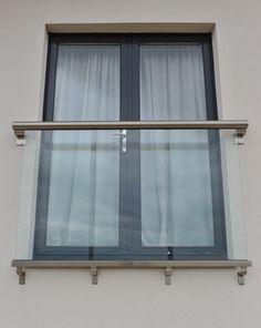 Royal Chrome Juliet Balcony - All About Balcony Glass Balcony Railing, Balcony Privacy, Balcony Lighting, Privacy Glass, Balcony Plants, Glass Juliet Balcony, Juliette Balcony, French Doors Bedroom, French Door Curtains