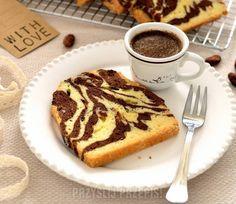 Babka zebra z keksówki French Toast, Muffins, Cupcakes, Sweets, Breakfast, Recipes, Food, Breads, Cookie
