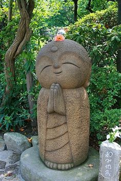 I am trying to buy this guy for my house - I fell in love with these statues in Japan - anyone know where I can buy a Nagomi Jizo Statue?