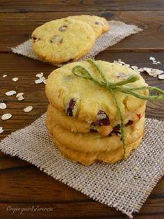 biscotti avena e mirtilli
