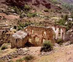 A century Greek historical site in Turkey's Black Sea province Gumushane (Greek Argyròpolis), has been ignored for the last 50 years, . Archaeology News, Historical Sites, 17th Century, Monument Valley, Greek, Travel, Outdoor, Turkey, Outdoors