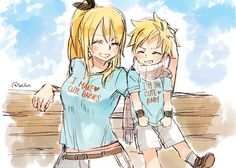 This is so adorable!!! ~ Natsu x Lucy = Cute Baby<3
