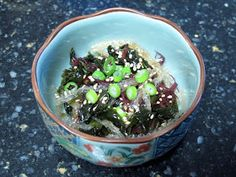I Believe I Can Fry: Seaweed Salad aka Kaiso Salad