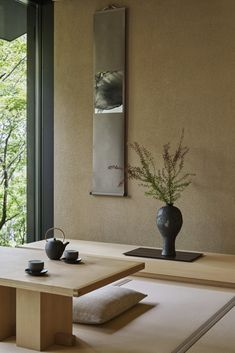 Our photo gallery lets you explore the beauty of Aman Kyoto, Japan. View our luxury rooms and pavilions & the stunning scenery on offer at Aman Kyoto. Minimalism Interior, Modern Zen House, Japanese Home Decor, Japanese Interior Design, Zen House, Zen Style, Resort Interior, Asian Interior