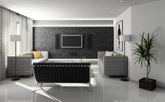 decoracion de baño de visitas muy elegante con tapices - Buscar con Google