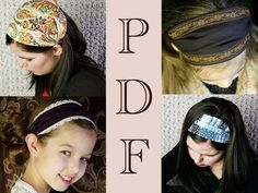 ADULT Headband Sewing Pattern PDF Wide Yoga Headband Pattern   Etsy Turban Headband Tutorial, Headband Pattern, Workout Headband, Yoga Headband, Wide Headband, Bandana Styles, Headband Styles, Fabric Headbands, Turban Headbands