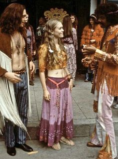 1960s the beginning of the hippies