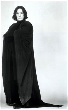 Severus Snape promoshot for Harry Potter and the Sorcerer Stone
