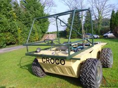 Croco ATV amphibious 4x4 military vehicle - Amphibious vehicle Photo