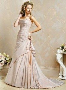 No one said the bride HAS to wear white :) – Dressdo.com