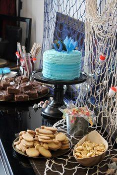 Kalamiehen kaverisynttärit - Minkun Matkassa Fishing, Party, Desserts, Food, Deserts, Fishing Rods, Fiesta Party, Dessert, Meals