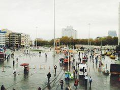 taksim. #square #landscape #vista #like #taksim #istanbul #turkey #vscocam #vsco