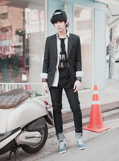 Men 39 S Fashion On Pinterest Ulzzang Boy Ulzzang And Won Jong Jin