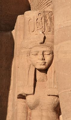 Abu Simbel Temple, detail, Egypt