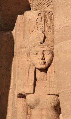 Abu Simbel Temple, detail, Egypt
