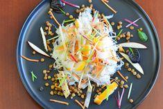 Salade de choucroute et de poissons fumés aux pommes - Le Vitaliseur de Marion