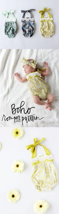 Boho Romper Pattern   See Kate Sew
