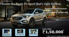 Santa Fe Sport offers plenty of performance features including your choice. So choose Santa Fe for your safe and happy journey. visit www.mukeshhyundai.com for more details.