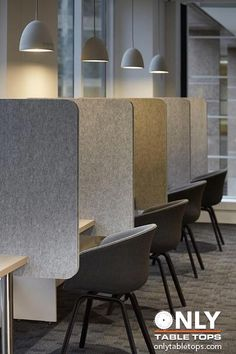 Office Design: Wonderful Office Space Divider Ideas Idea For An Open Office Desk Divider Ideas: Office Divider Ideas Pictures Cool Office Space, Office Space Design, Office Workspace, Office Interior Design, Office Designs, Office Cubicle, Office Spaces, Work Spaces, Working Space Design