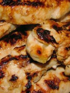 Must Repin and try! Best Chicken ever!!  Skinny Cracker Barrel Inspired Grilled Chicken Recipe!