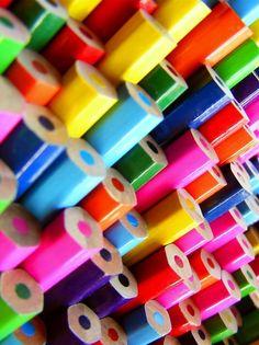 Coloured pencils!