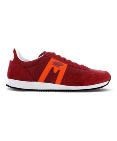 76e209d21ec8 Karhu Burgundy   Orange Albatross Suede Sneaker