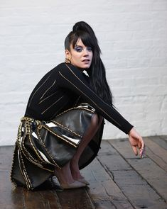 Lily Allen Rocks 90s Style for Eric Guillemain in S Moda Cover Story