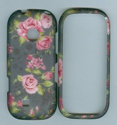 Grey Red Rose Flower Cover Case Faceplate Protector Rubberized Lg Cosmos 3 Vn251s Prepaid Phone / Cosmos 2 Vn251 Prepaid Phone (Verizon Wireless) wirelessoutletusa http://www.amazon.com/dp/B00WPWEYXK/ref=cm_sw_r_pi_dp_d0ROvb173M0YF