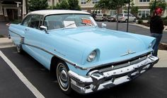 This 1956 Mercury Montery 2 door hartop owned by Mark Arnold won the 1956-1960 catagory at MacKenzie Place Car Show.