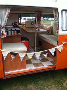 VW Campervan interior