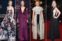 Week in Fashion: See Back-to-Back Hunger Games Premiere Looks from Jennifer Lawrence, Elizabeth Banks, and Julianne Moore.