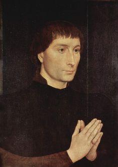 Hans Memling Artist | Portrait of Tommaso Portinari