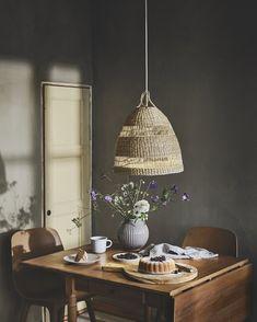 Dining Room Lamp Shades Beautiful Set the Mood with Lighting Ikea Wabi Sabi, Seagrass Storage Baskets, Dining Room Lighting, Mindful Living, Room Lights, Rustic Furniture, Kitchen Furniture, Pendant Lamp, Art Deco
