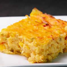 First and Only Carb Cycling Diet - Corn Pie Recipe Corn Recipes, Pie Recipes, Great Recipes, Cooking Recipes, Favorite Recipes, Sweet Corn Pie Recipe, Cornbread Recipes, Appetizer Recipes, Corn Dishes
