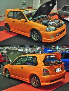 Toyota Starlet Glanza V at Bangkok Auto Salon 2013 (by zynos958 on deviantART )