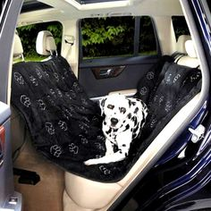 GG Pawprint Hammock Car Seat Cover Black and Gray with Pet Hair adhesive lint Roller (set) ** Details can be found by clicking on the image. (This is an affiliate link and I receive a commission for the sales)