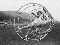 Love this German wheel photo. Photographer unknown.