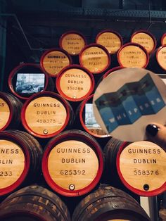 """""""When we think about Ireland, beer is one of the first things that comes to mind. And Irish beer Guinness is the most famous one. The famous Black Stuff. Dublin, Guinness Storehouse, Irish Beer, Famous Black, When Us, Ireland, Mindfulness, Instagram, Irish"""