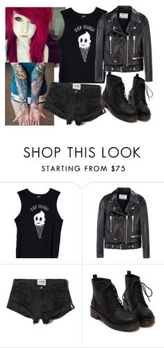 """""""ice cold !!!!"""" by animemonstergirl ❤ liked on Polyvore featuring Valfré, Acne Studios and Abercrombie & Fitch"""