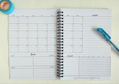 What if the traditional monthly log doesn't suit's your current lifestyle? Make your own monthly calendar with twists in Bullet Journal traditional monthly log. See the 4 different (practical) Monthly Layout Ideas in this series.