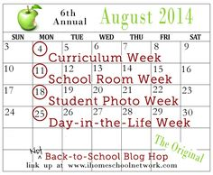 """6th Annual """"Not"""" Back-to-School Blog Hop: Student Photo Week 