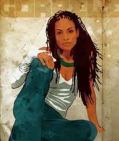 More Black Women Art!