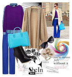 """Shein cardigan"" by irinavsl ❤ liked on Polyvore featuring G-Star, Diane Von Furstenberg, Balenciaga, ASOS and Chanel"