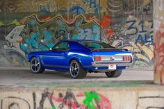 1969 Ford Mustang Fastback... rawr!